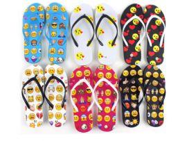 48 Units of Flip Flop Emoji - Women's Flip Flops