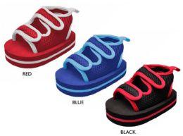 18 Units of Infant Boy's Mesh Sandals w/ Velcro Closure Detail - Boys Flip Flops & Sandals