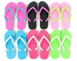 48 Units of Flip Flop Two Tone - Women's Flip Flops