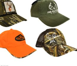 24 Wholesale Real Tree And Mossy Oak Hats