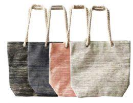 12 Bulk Canvas Tote Bag Gold Foil