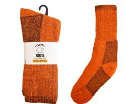 24 of Keds Crew Wool Socks Orange 2 Pairs