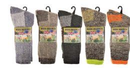 16 Units of Mens Thermal Work Sock 3 Pairs - Mens Thermal Sock