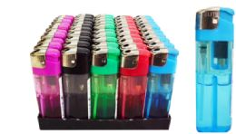 50 Units of Electronic Lighter Transparent - Lighters