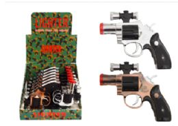 24 Units of Revolver Lighter With Laser - Lighters