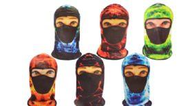 36 Units of Balaclava Mask Electrified - Unisex Ski Masks