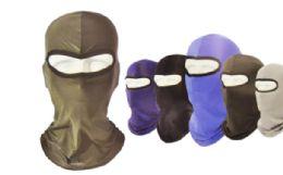 36 Units of Balaclava Mask In Solid Color - Unisex Ski Masks