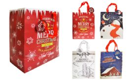 120 Units of Christmas Gift Bags - Christmas Gift Bags and Boxes