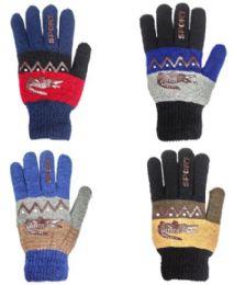 48 of Glove Mix Colors Men Gloves
