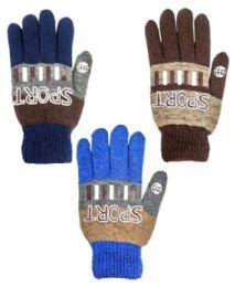 48 of Glove Mix Colors Men Gloves Sport