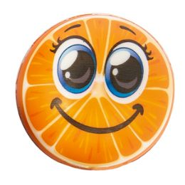 72 Units of Smiley Fruit Stress Ball - Slime & Squishees