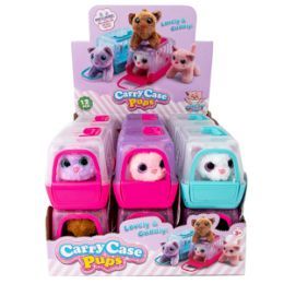 24 Units of Cuddly Kitten in Carrier - Dolls