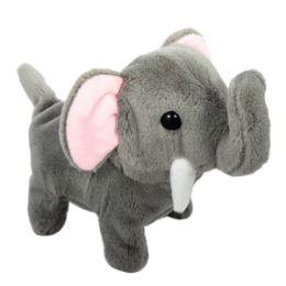 36 Units of Plush Walking Elephant With Sound - Plush Toys