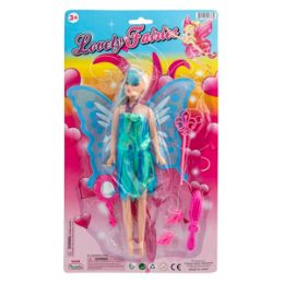 36 Units of Lovely Fairy Doll - 6 Piece Set - Dolls