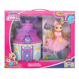 12 Units of My Little Castle Play Set - 23 Piece Set - Dolls