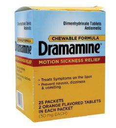25 Bulk Dramamine Motion Sickness Relief