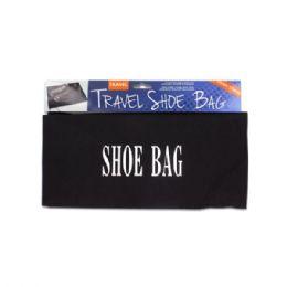 24 Bulk Drawstring Travel Shoe Bag