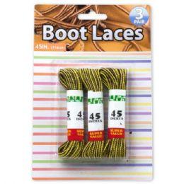 24 Wholesale Nylon Boot Laces