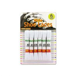 24 Wholesale White Shoe Laces