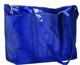 24 Wholesale Navy Canvas Diaper Bag