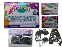48 of Congrats Letter Balloons