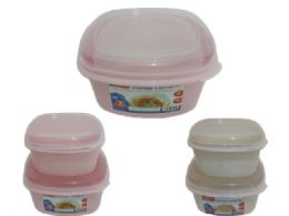 48 Units of Food Storage Square Container Assorted - Food Storage Containers