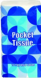 360 Units of 15ct Pocket Pack Tissue - Tissues
