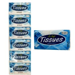144 Units of 2-Ply Embossed Sheets Pocket Tissues - Tissues