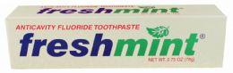 144 Bulk 2.75 oz. Anticavity Fluoride Toothpaste