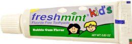 144 Bulk 0.85 oz. Kids Fluoride-Free Toothpaste