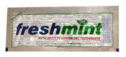 1000 Bulk 0.28 oz. Single Use Clear Gel Anticavity Fluoride Toothpaste