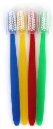 1000 Bulk Multicolor Toothbrushes w/ Cap