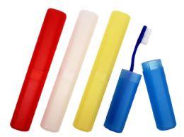 100 Bulk Toothbrush Holders (Multicolored)