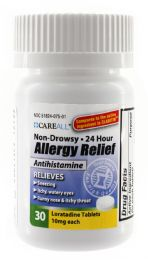 24 Bulk Allergy Relief - Loratadine 10mg (Compare to Claritin) - 30/Bottle