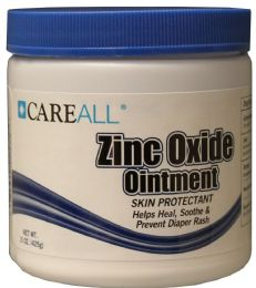 12 Bulk 15 oz. Jar Zinc Oxide Ointment