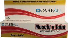 72 Bulk 3 oz. Muscle & Joint Gel