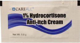 1728 Bulk 0.9g Hydrocortisone Cream Packet