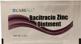 1728 Bulk 0.9 g Bacitracin Zinc Ointment Packet