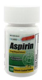 24 Bulk Adult Low Dose 81 mg. Baby Aspirin, 120/bt