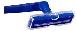 144 Units of Twin Blade Razors (Navy Handle) - Shaving Razors