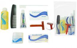 96 Bulk Unisex 8-Piece Hygiene Convenience Kits