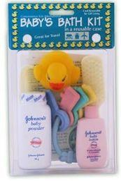 6 Bulk Baby Travel Hygiene Convenience Bath Kits - 6 pc.