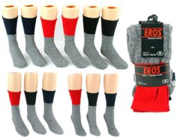 216 Bulk Men's, Women's, and Kid's Thermal Boot Socks Combo