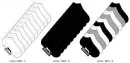 360 Bulk Girl's Athletic Low Cut Socks - Size 6-8