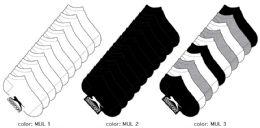 360 Bulk Women's Athletic Low Cut Socks - Size 9-11