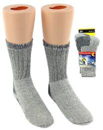 30 of Boy's & Girl's Thermal Merino Wool Crew Socks - Size 6-8
