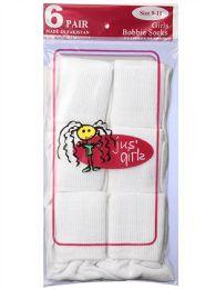 36 Bulk Kid's Socks Assorted Sizes Of 6-8