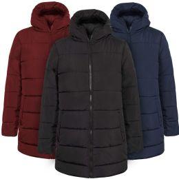 20 Units of Women's Hooded Puffer Winter Coat - 3 Colors - Women's Winter Jackets