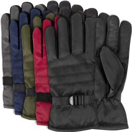 50 Units of Adult Winter Gloves - Assorted Colors - Winter Gloves