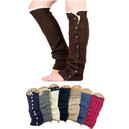 144 Units of Mix & Match Leg Warmers - Womens Leg Warmers
